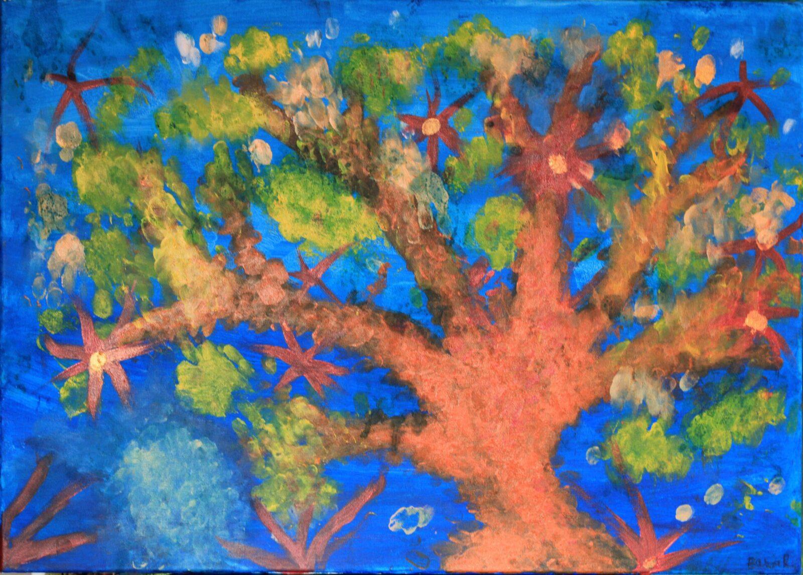 Błękitna impresja - Barbara Różycka